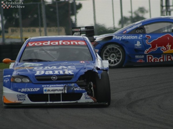 Alain Menu with battle scars