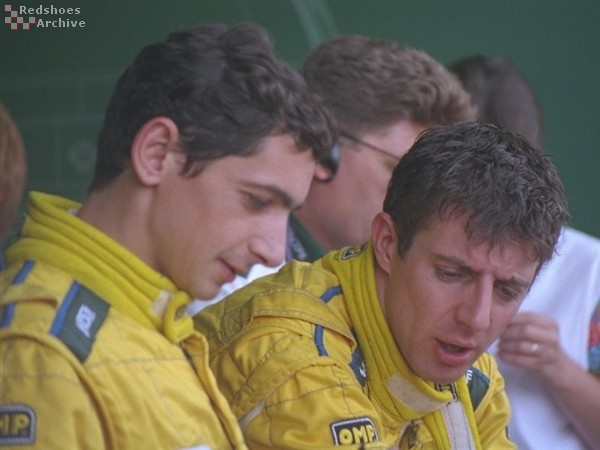 Jason Plato and Jean-Christophe Boullion